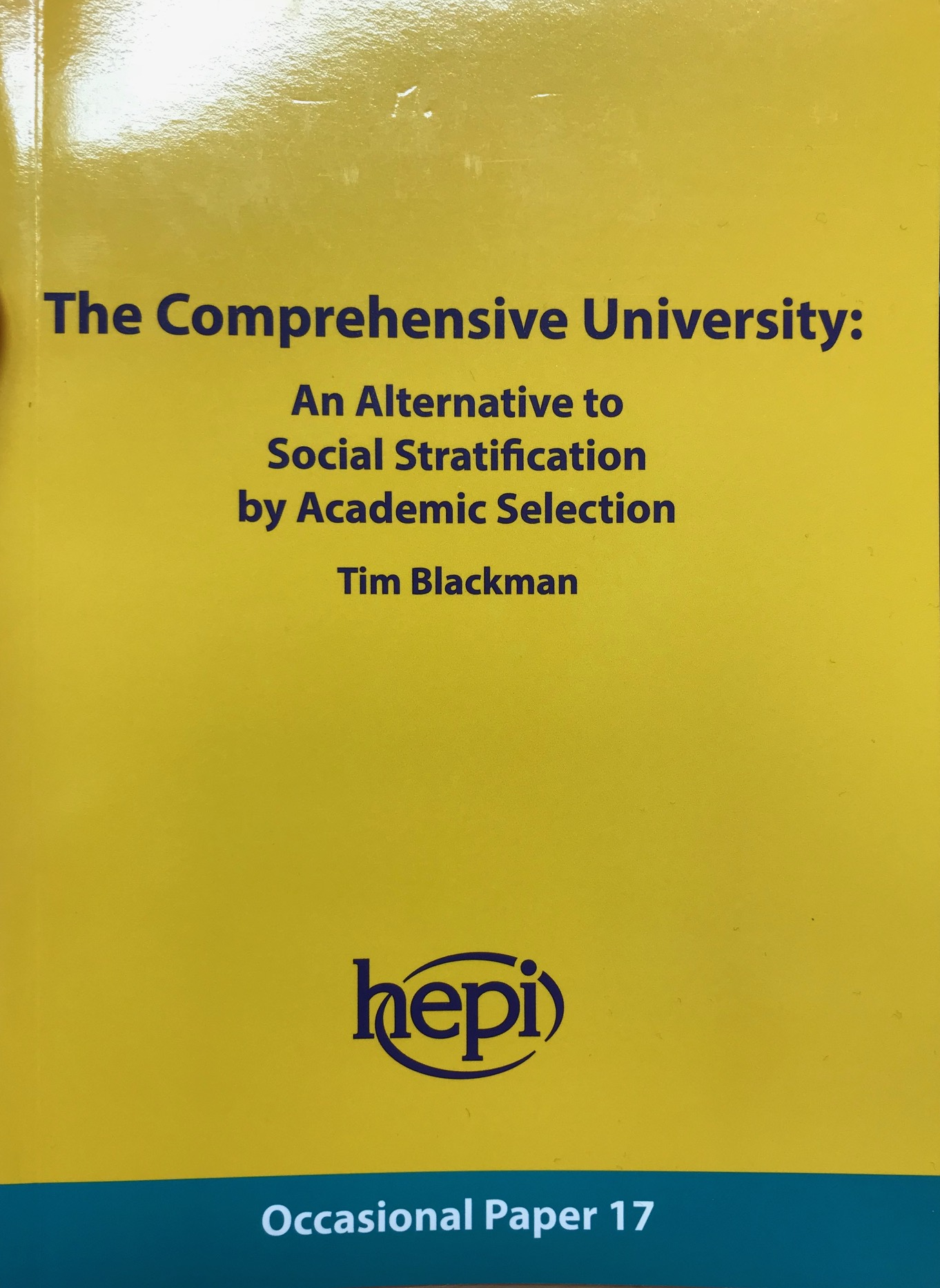 The Comprehensive University featured image