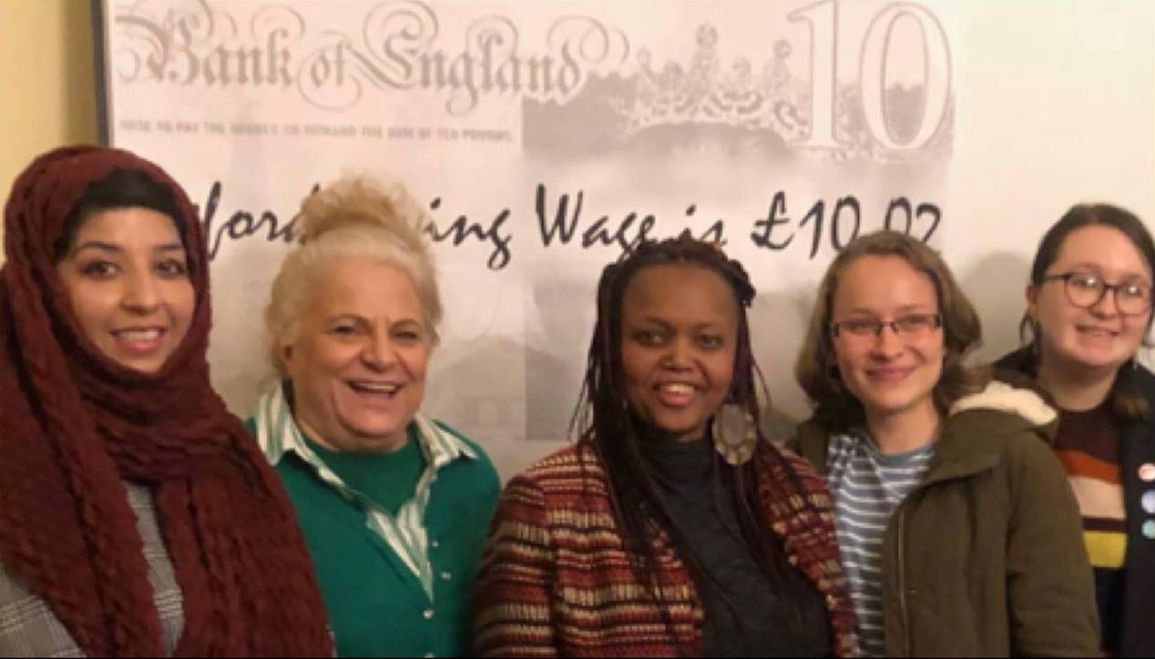 Sisters fight for the living wage featured image